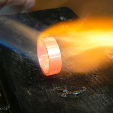 Glühender Ring