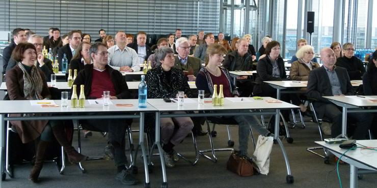 Vortrag in Mannheim Zuhörer