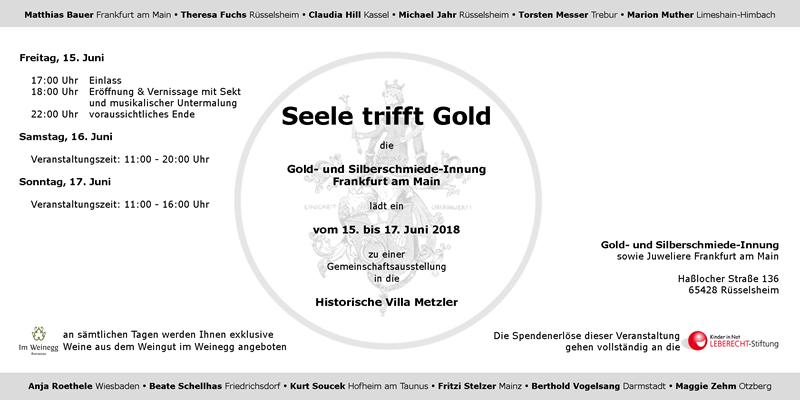 Seele trifft Gold in der Historischen Villa Metzler